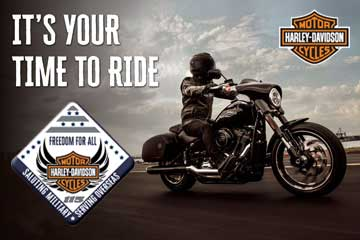 Your-Time-To-Ride Harley-Davidson