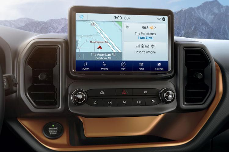 Ford Bronco Sport Screen
