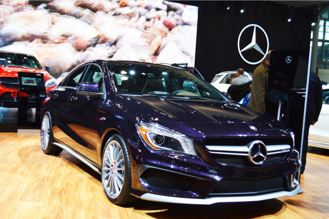Military autosource visits the 2015 new york international for Mercedes benz us international