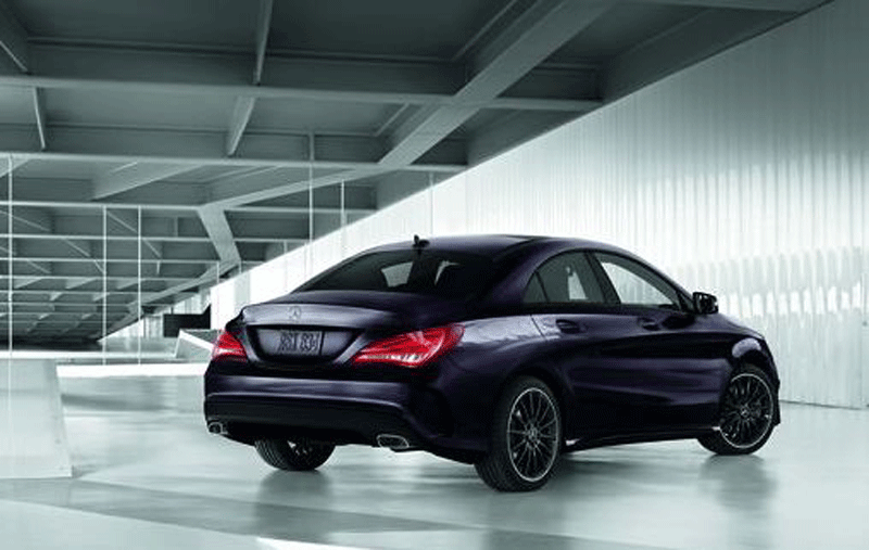 The MercedesBenz Night Package  Military Autosource