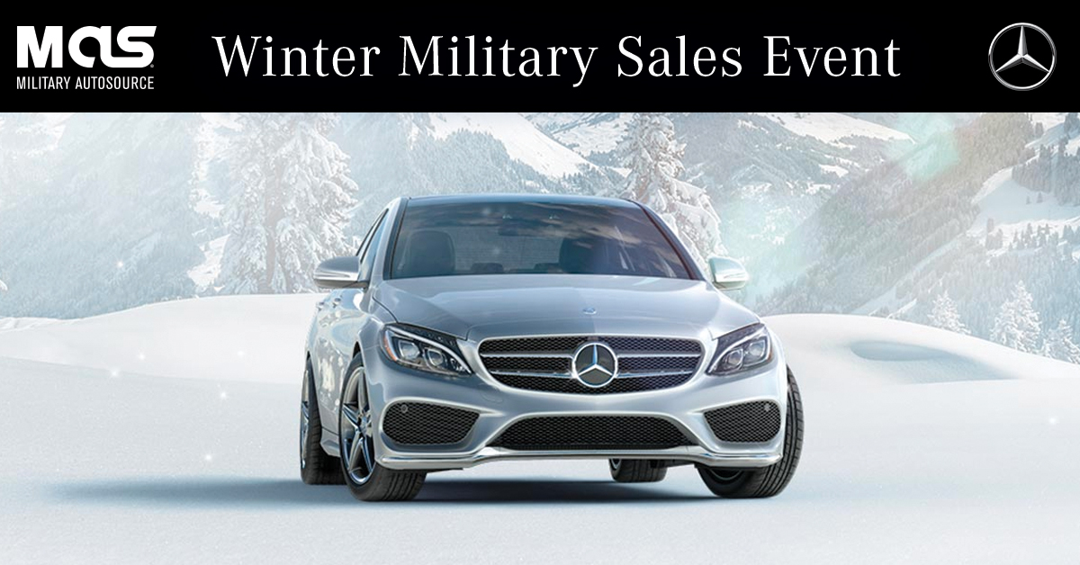 extended the mercedes benz winter military sales event