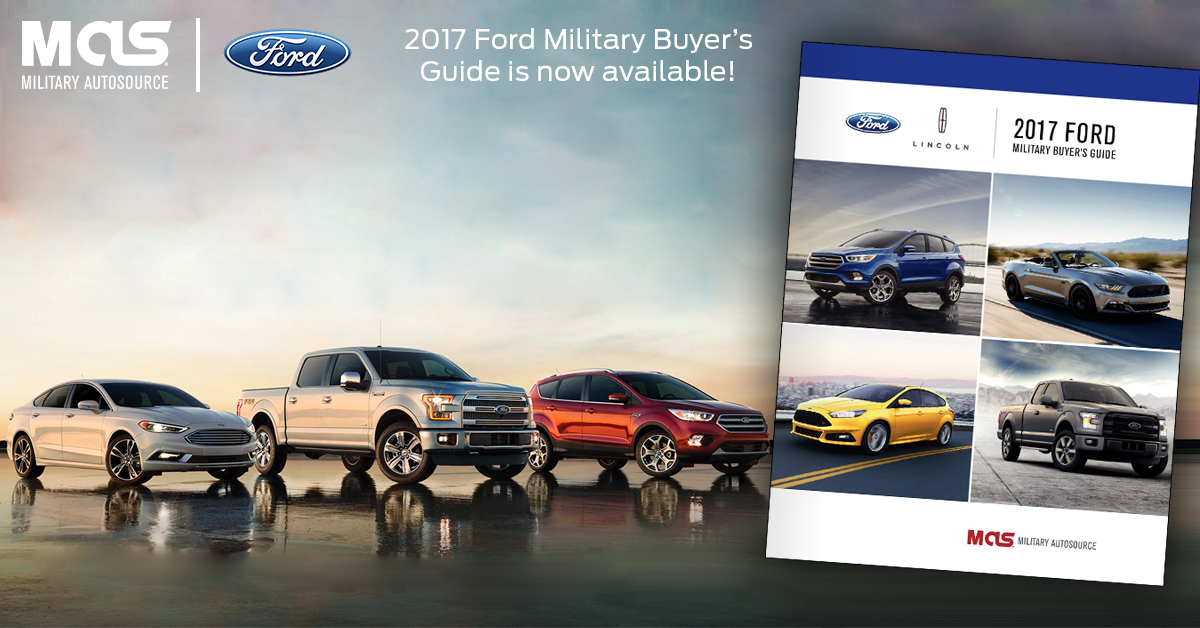 Ford Military Buyers Guide