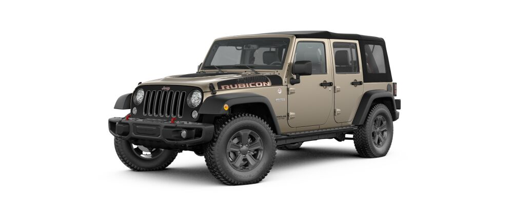 Breaking News The 2017 Wrangler Rubicon Recon Edition Is Now