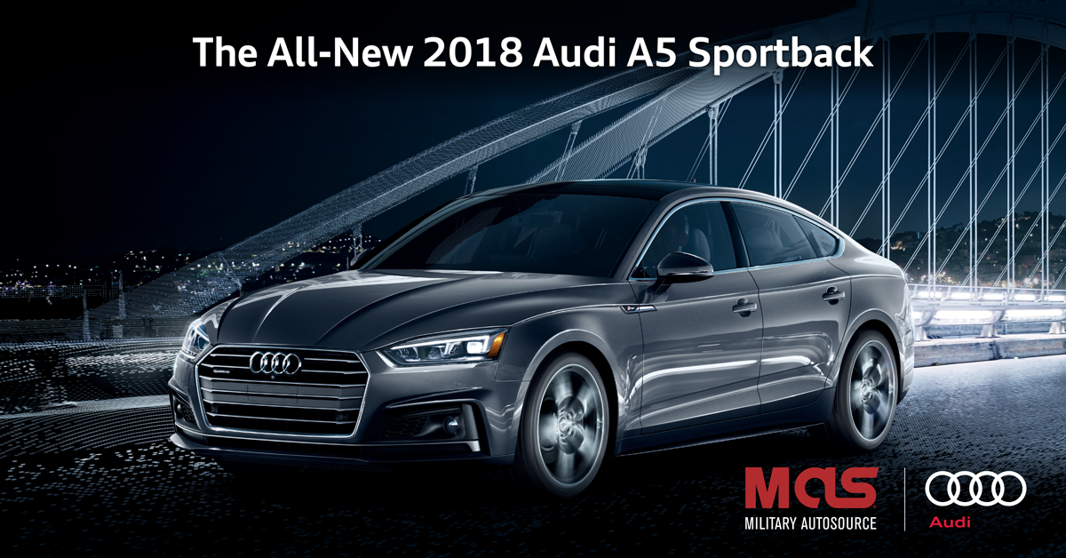 Now Available At Military Autosource The 2018 Audi A5