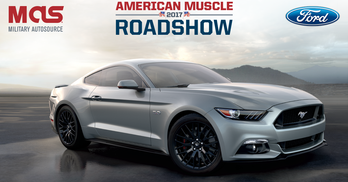 Military AutoSource - Join Us For Our American Muscle Roadshow ...