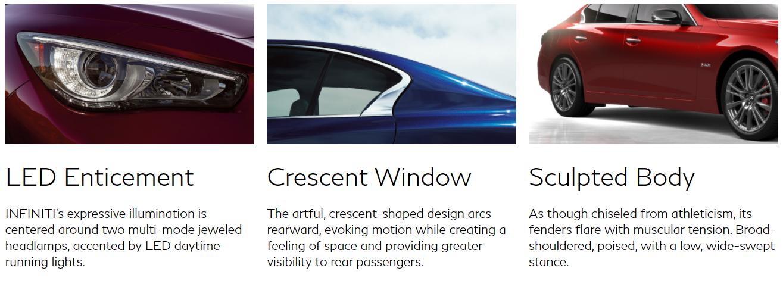 2018 Infiniti Q50 Design