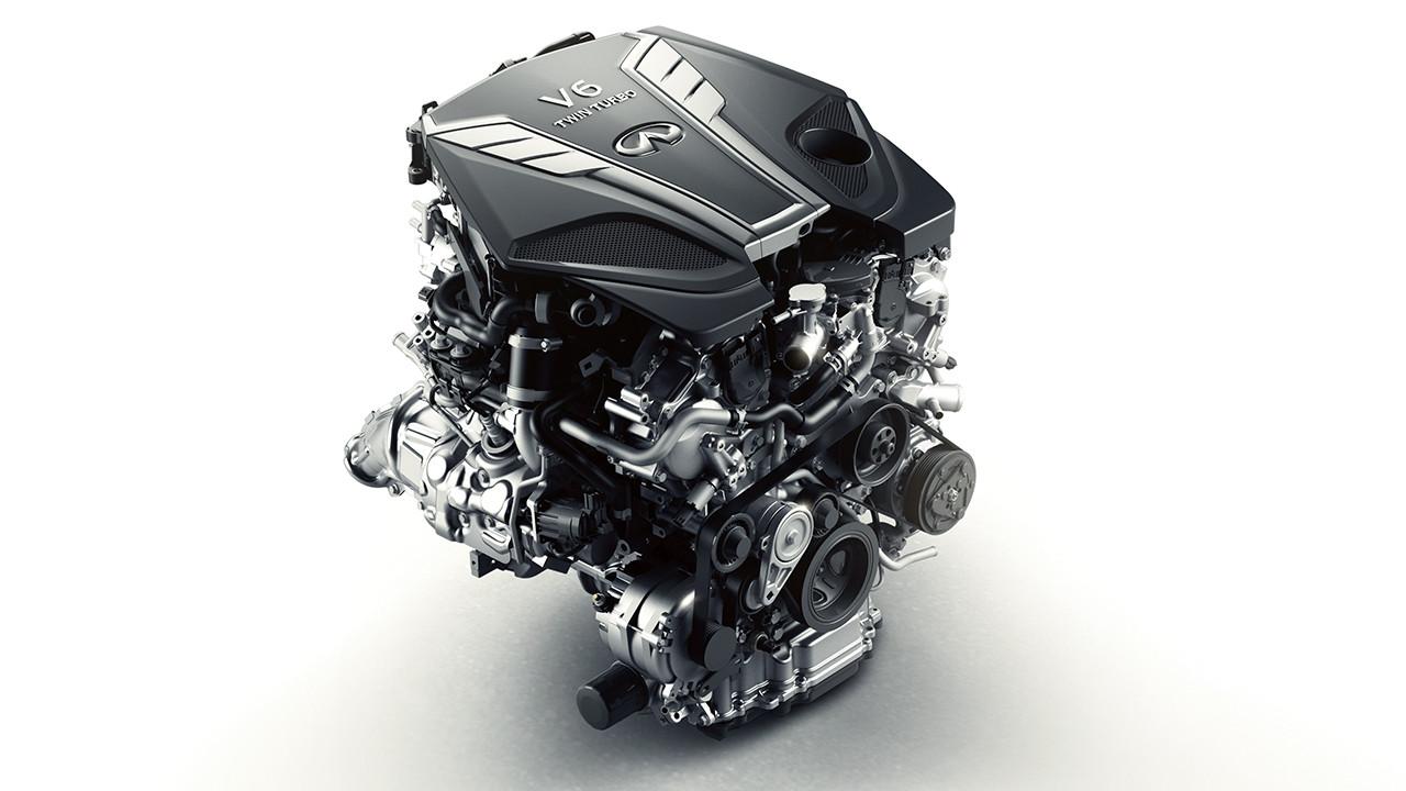 2018 Infiniti Q50 engine