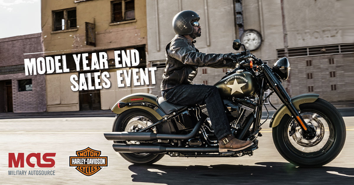294c7d2e Harley-Davidson Model Year End Sales Event - Military Autosource