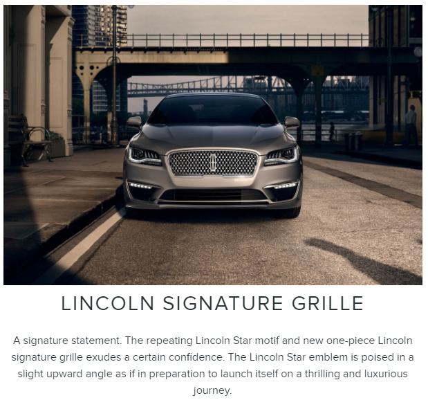 Lincoln MKZ Signature Grille