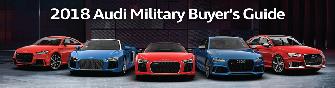 2018 Audi Military Buyers Guide
