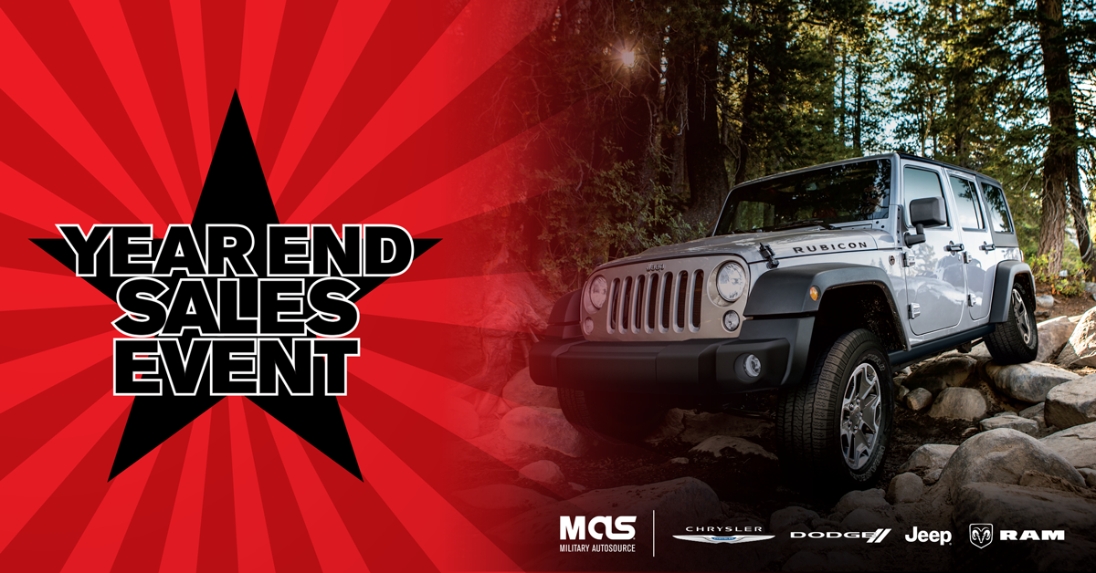 Ford And Fca Year End Sales Event Military Autosource