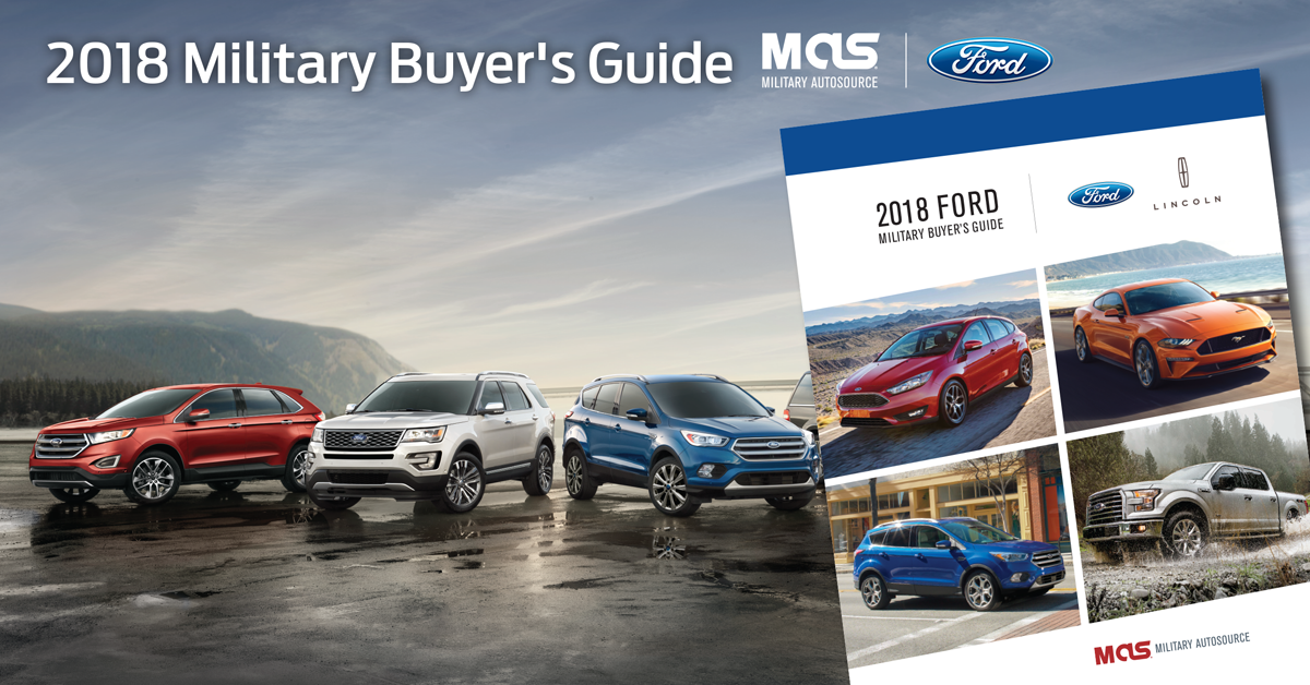 2018 Ford Military Buyer's Guide