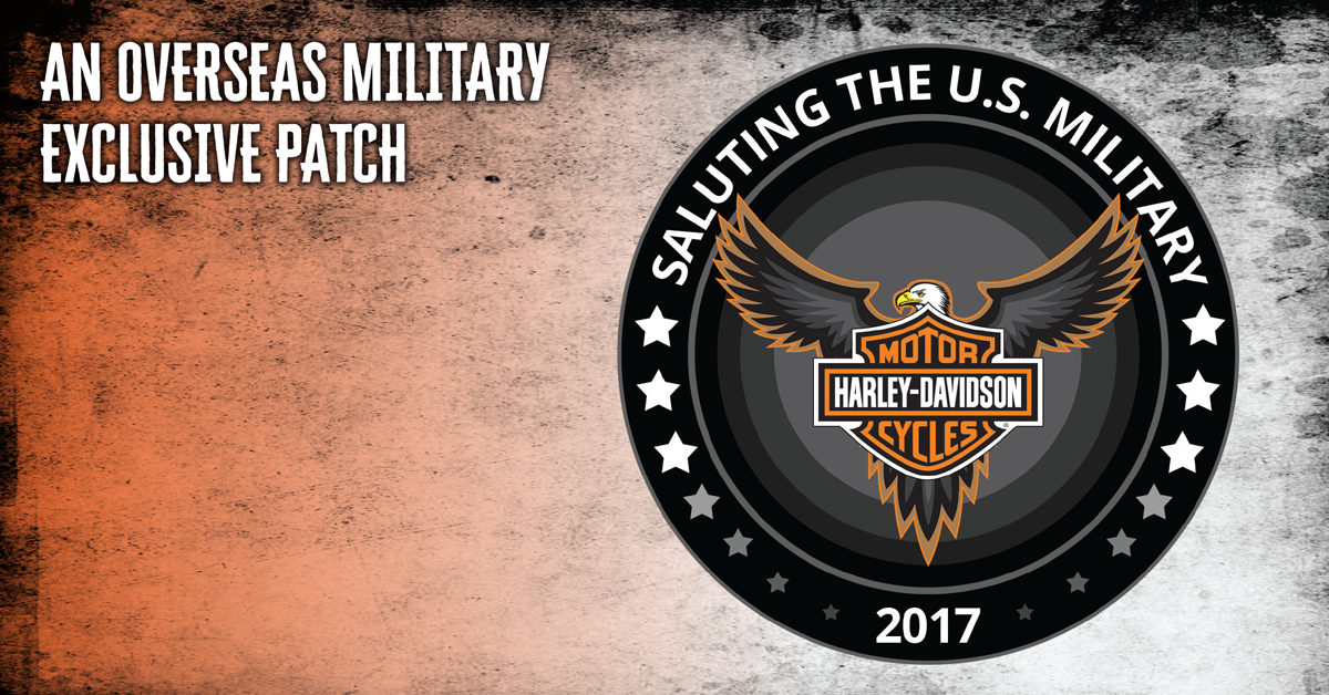 the 2017 harley davidson military patch military autosource. Black Bedroom Furniture Sets. Home Design Ideas