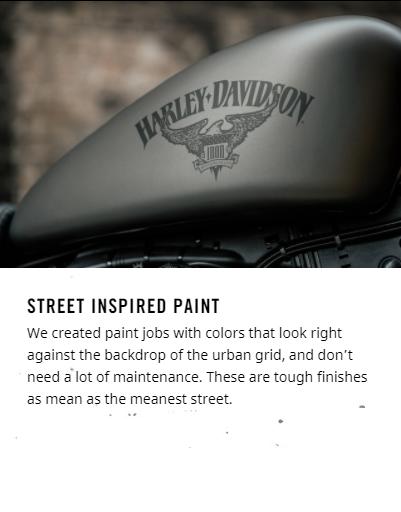 2018 Harley-Davidson Iron 883™ Street inspired paint