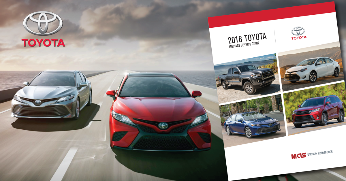 2018 Toyota Military Buyer's Guide
