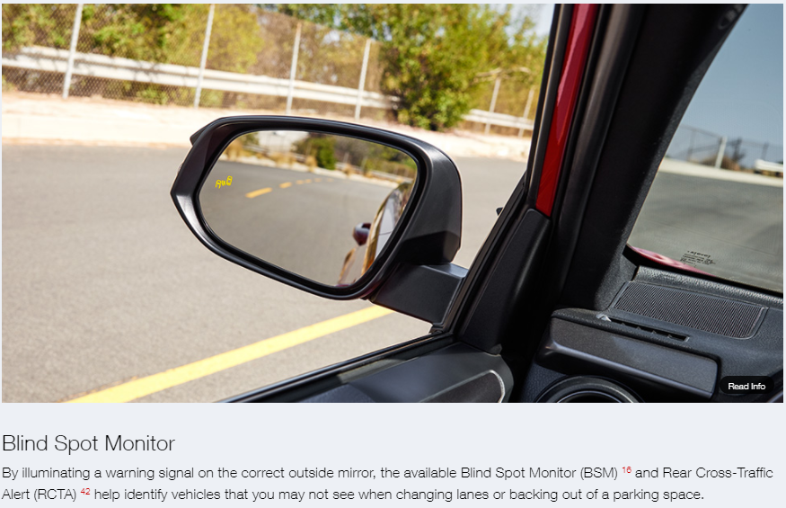 Blind Spot Monitoring