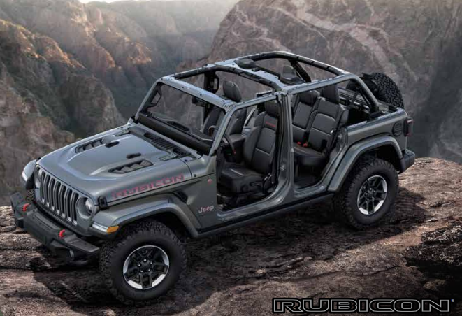 Jeep Wrangler Interior 2018 >> The All-New 2018 Jeep Wrangler - Military Autosource