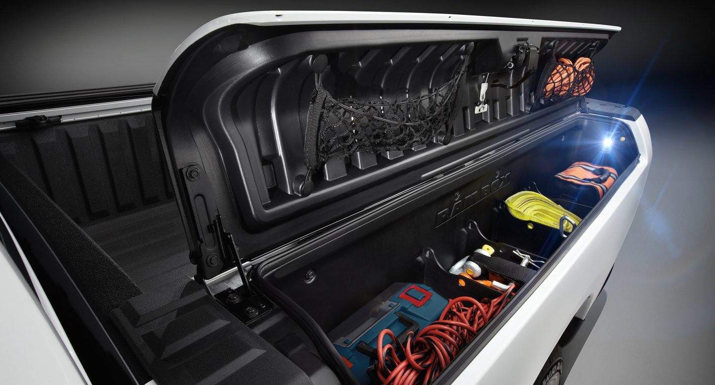 Cargo box lighting