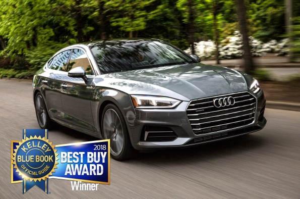 2018 Audi A5 Sportback Best Buy Award Kelley Blue Book