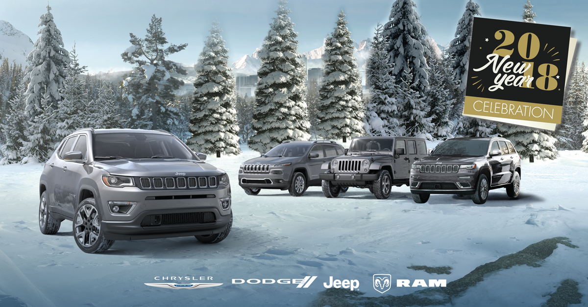 Chrysler, Jeep, Dodge, and Ram Lineup