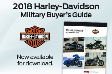 2018 Harley-Davidson Military Buyer's Guide