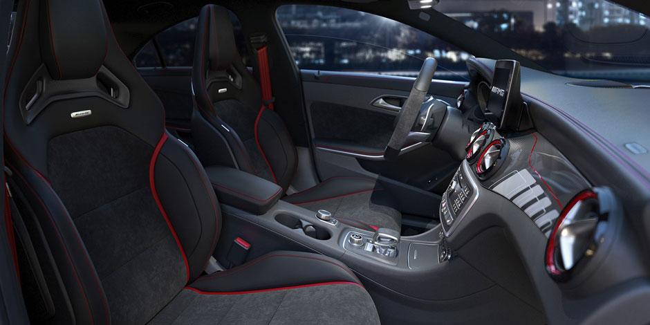 Mercedes-Benz CLA cockpit, Mercedes-Benz CLA cabin