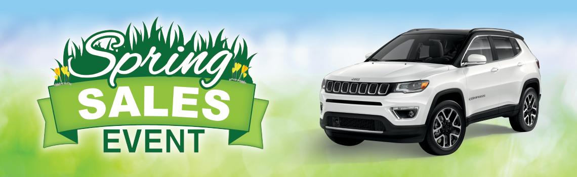 FCA Spring Sales Event