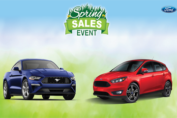 Ford Spring Sales Event