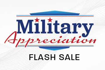 Military Appreciation Flash Sale