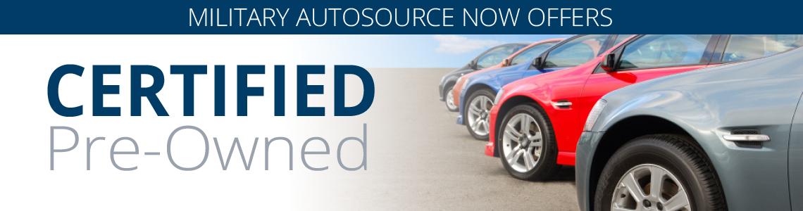 Certified Pre-owned Military AutoSource