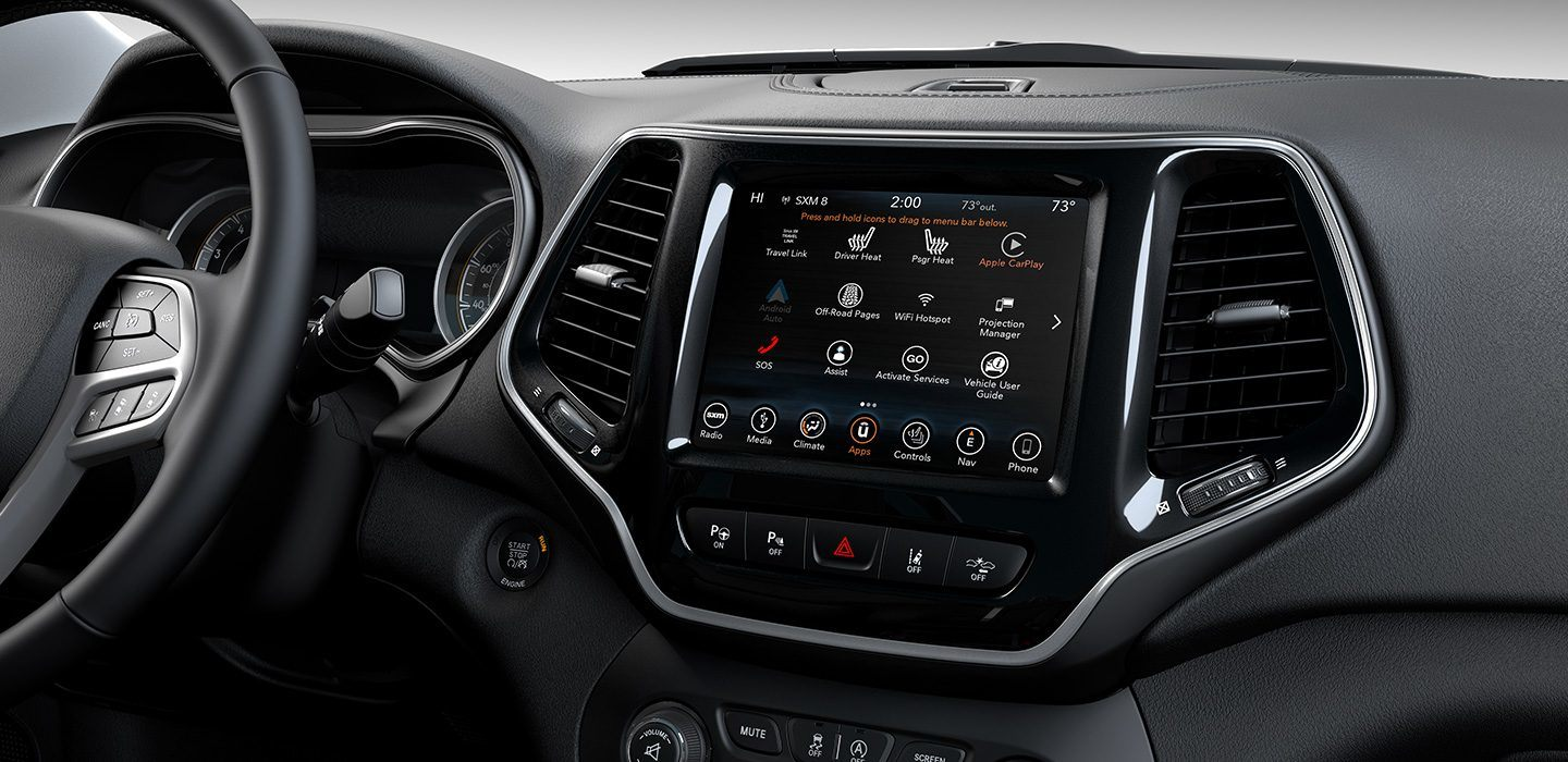 2019-Jeep-Cherokee-Interior-Uconnect-Family-Connect