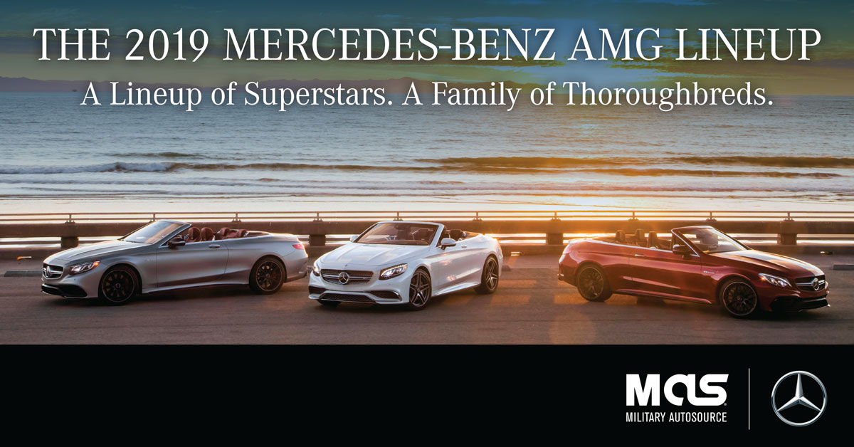 Military AutoSource offers full Mercedes-Benz AMG Line-Up