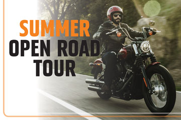 Harley-Davidson - Military AutoSource Summer Open Road Tour
