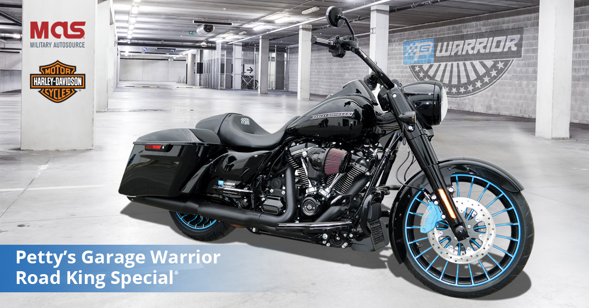 Military AutoSource introduces the Petty's Garage Warrior Road King Special