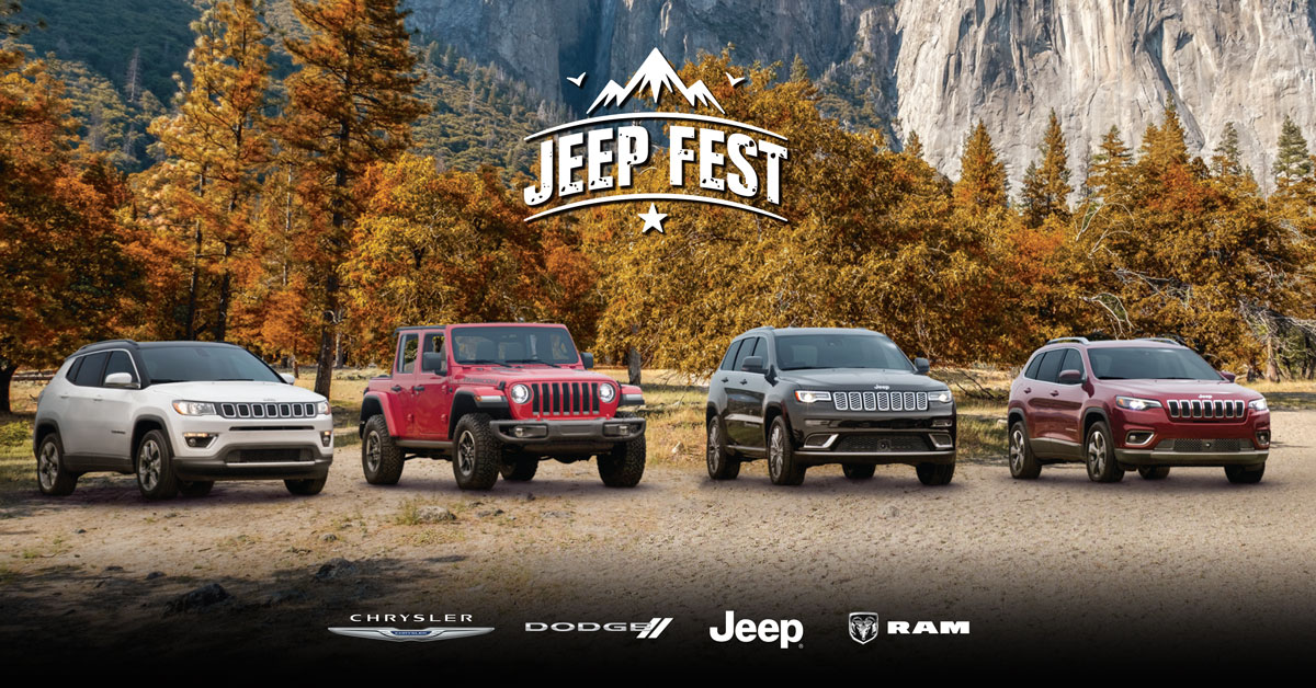 Jeep Fest - Full Jeep Lineup