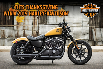 Military AutoSource Harley-Davidson Giveaway
