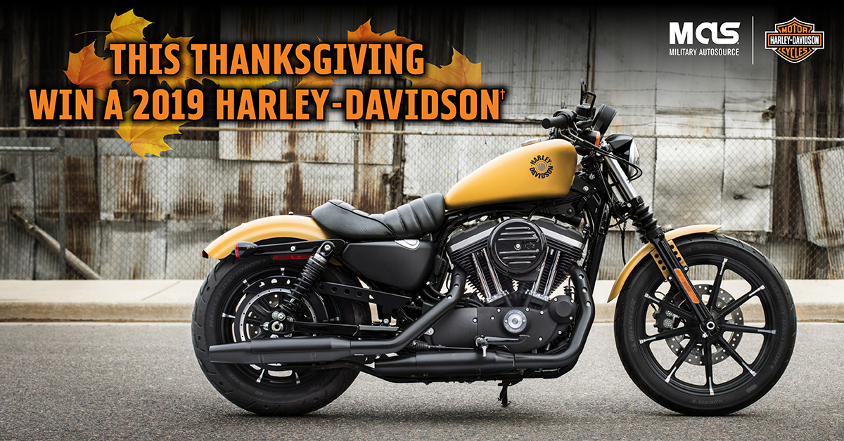 Harley-Davidson Thanksgiving giveaway