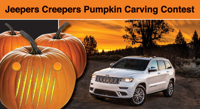 Jeepers Pumpkin Carving Contest
