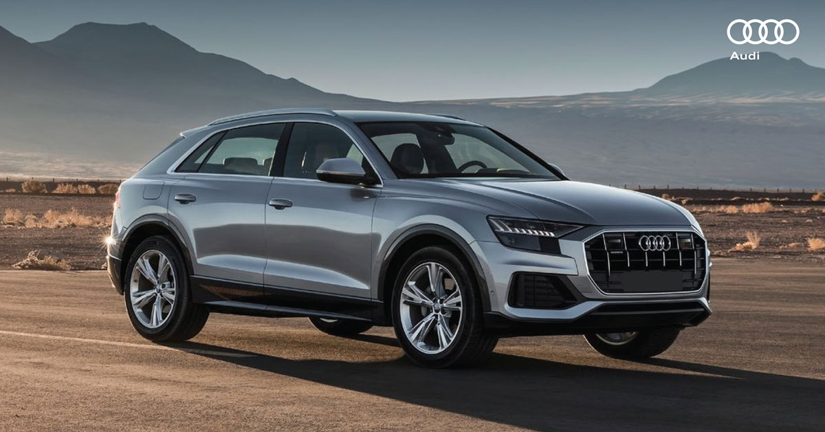 Led Utility Light >> Introducing The All-New 2019 Audi Q8 - Military Autosource
