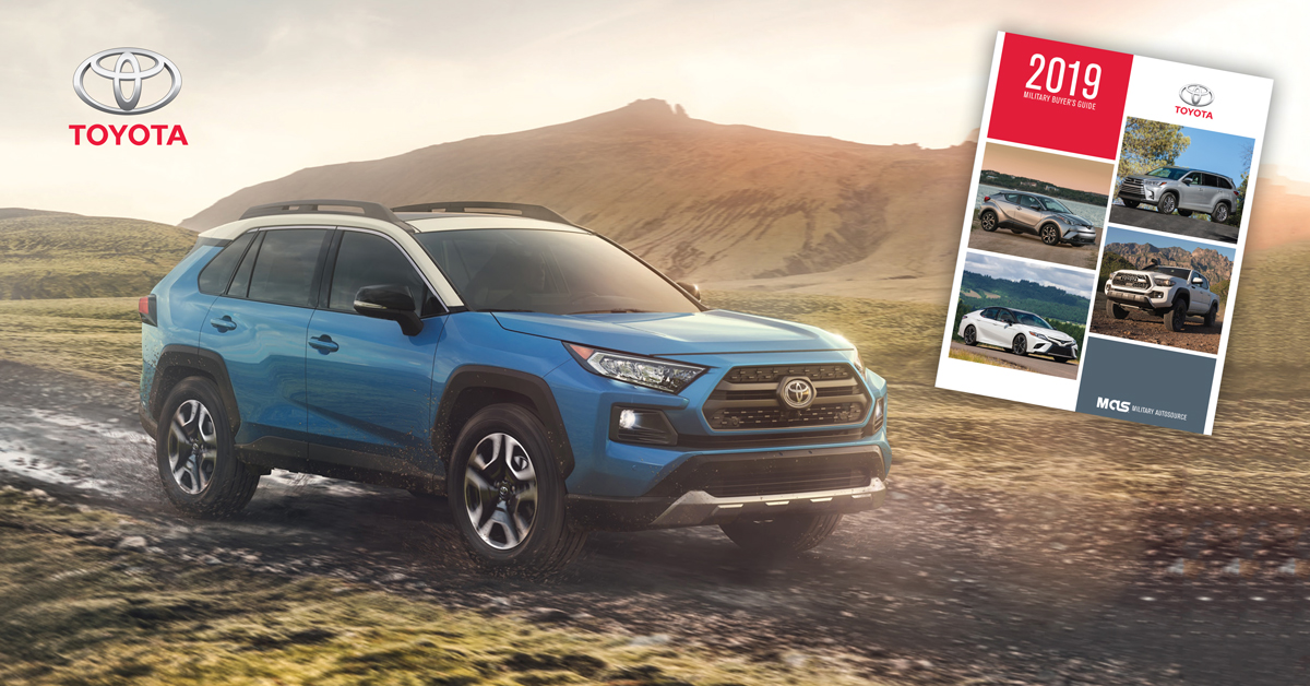 Military AutoSource Toyota Buyer's Guide RAV 4
