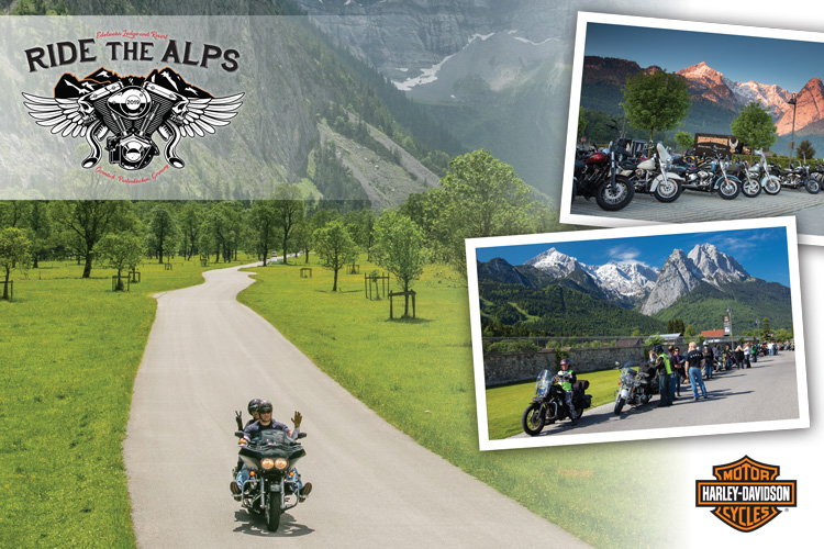 Win a Ride the Alps Vacation for Two - Military Autosource